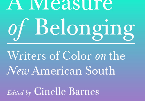 Hub City Press and Cinelle Barnes to publish Anthology of New Writers of Color on the American South