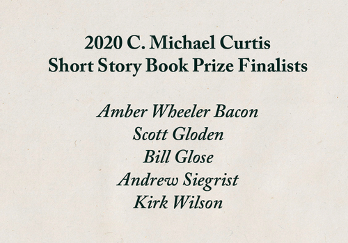 Announcing the 2020 C. Michael Curtis Short Story Book Prize