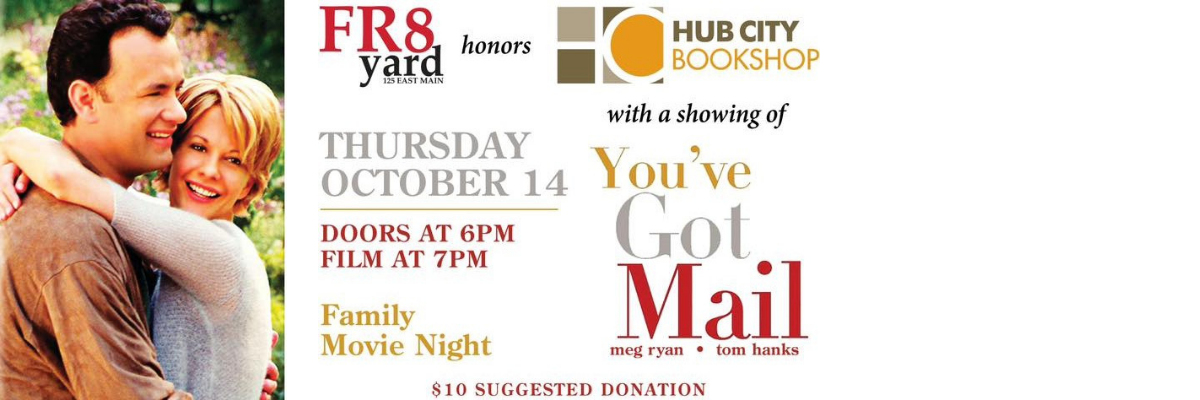 FAMILY MOVIE NIGHT In Support of Hub City Bookshop