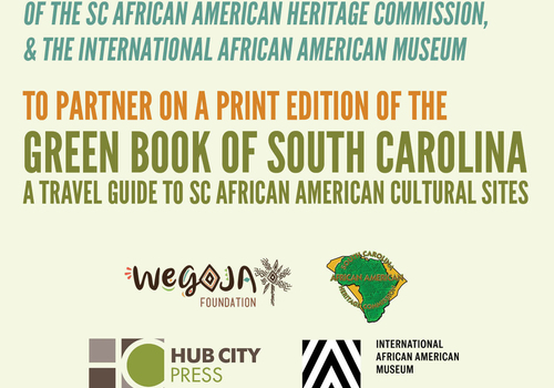 Hub City Press to Release Travel Guide to SC African American Cultural Sites