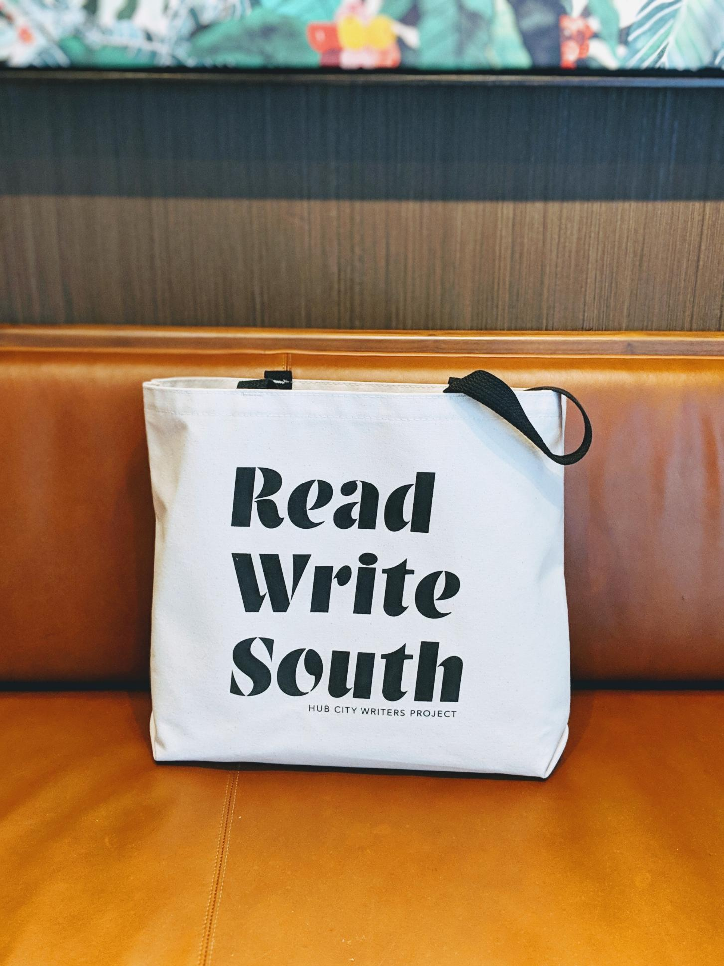 Read Write South Tote Bag