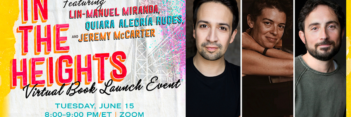 In The Heights Virtual Book Launch
