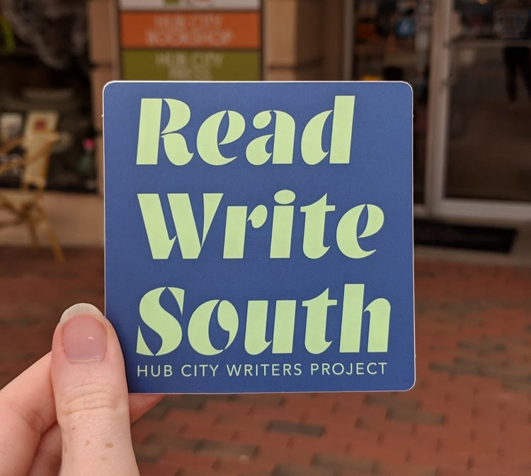 Read Write South Sticker