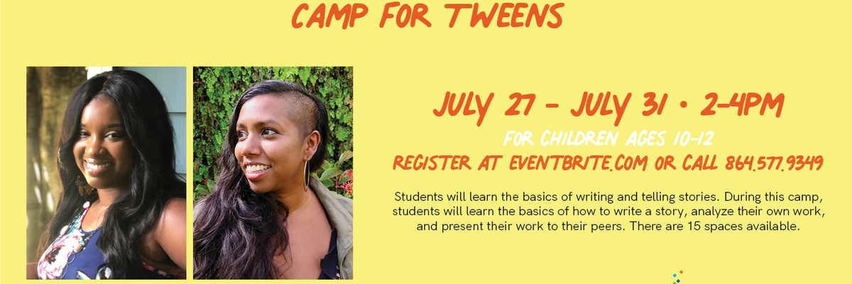 Storytelling Writing Camp for Tweens