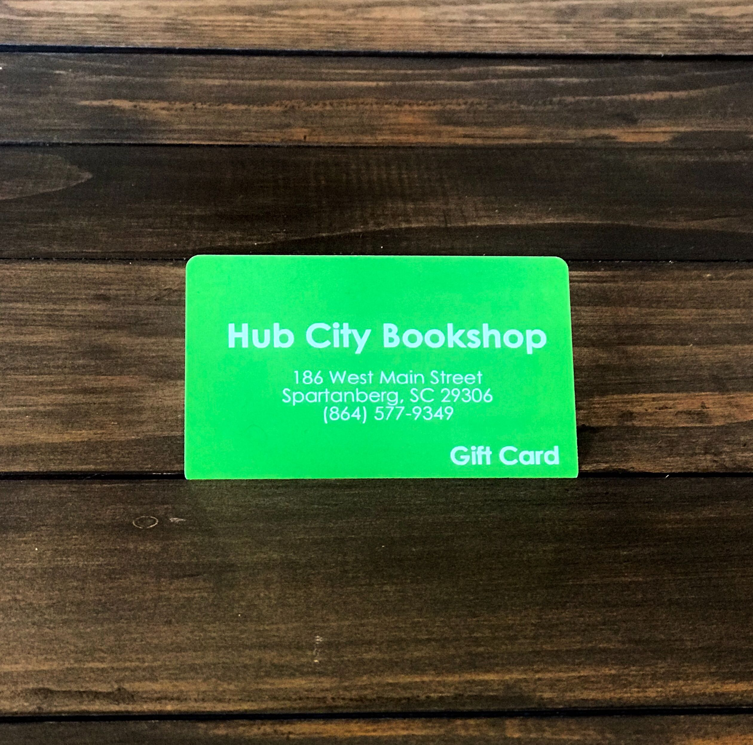 Hub City Bookshop Gift Card - $50